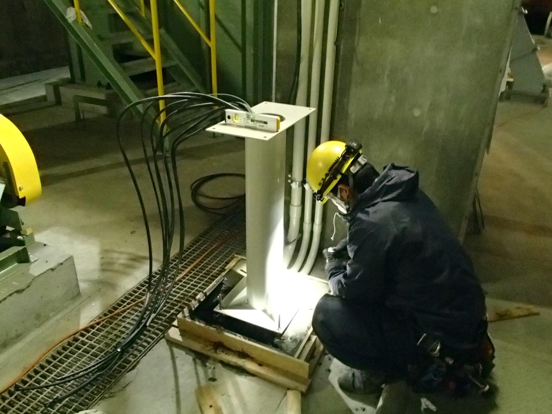 プラント電気設備工事